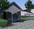 3D carport overkapping