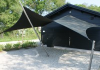 Design Carport Squaricles Sunsail Systems Mierlo