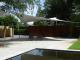 Design overkapping van zeil doek als terrasoverkapping