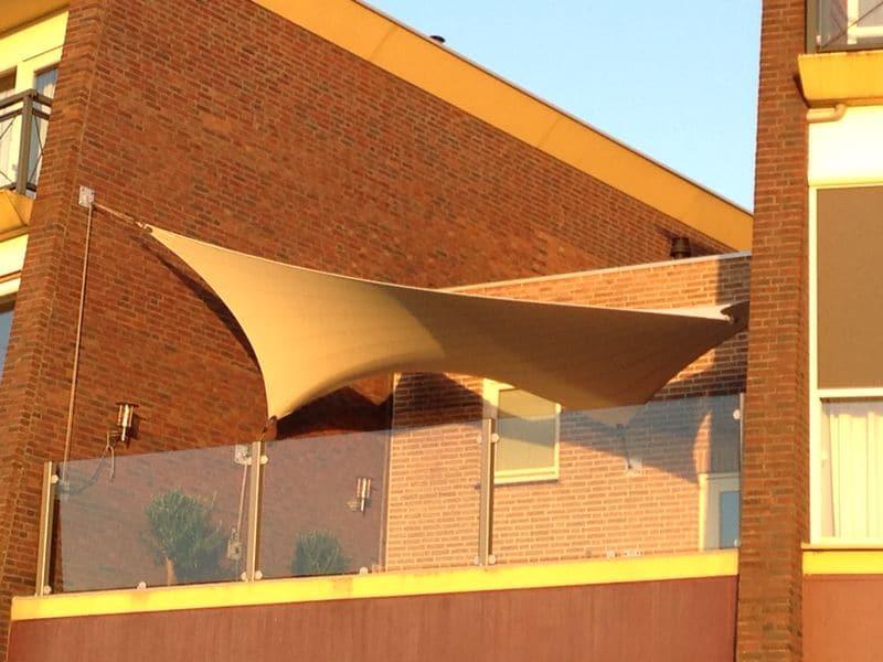 D op maat zeil design overkapping van europa squaricles sunsail - Terras zeil ...